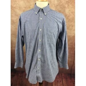 Tommy Hilfiger Men's Blue Shirt 17 32/33